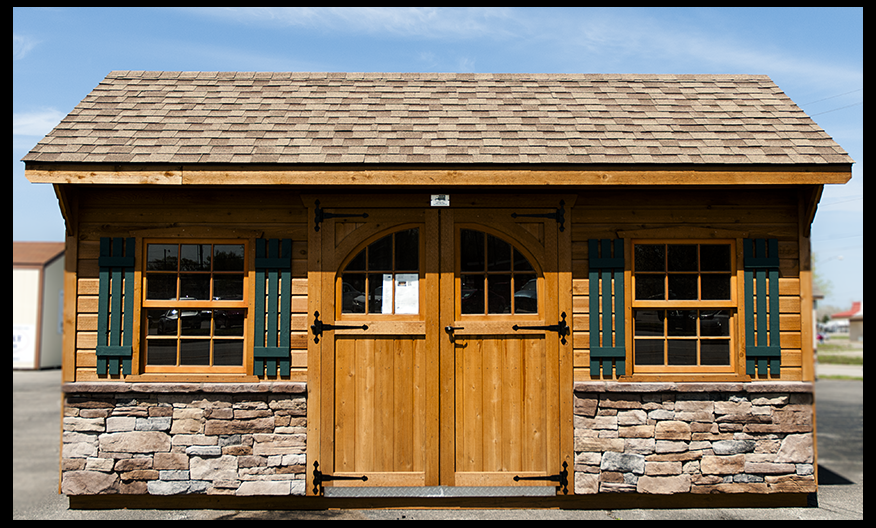 Garden Sheds Ohio is it time for a backyard shed? » amish woodwork