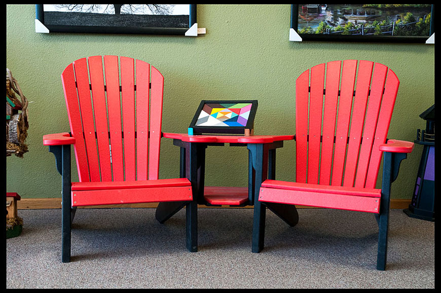 The benefits of poly (recycled plastic) furniture » Amish Woodwork
