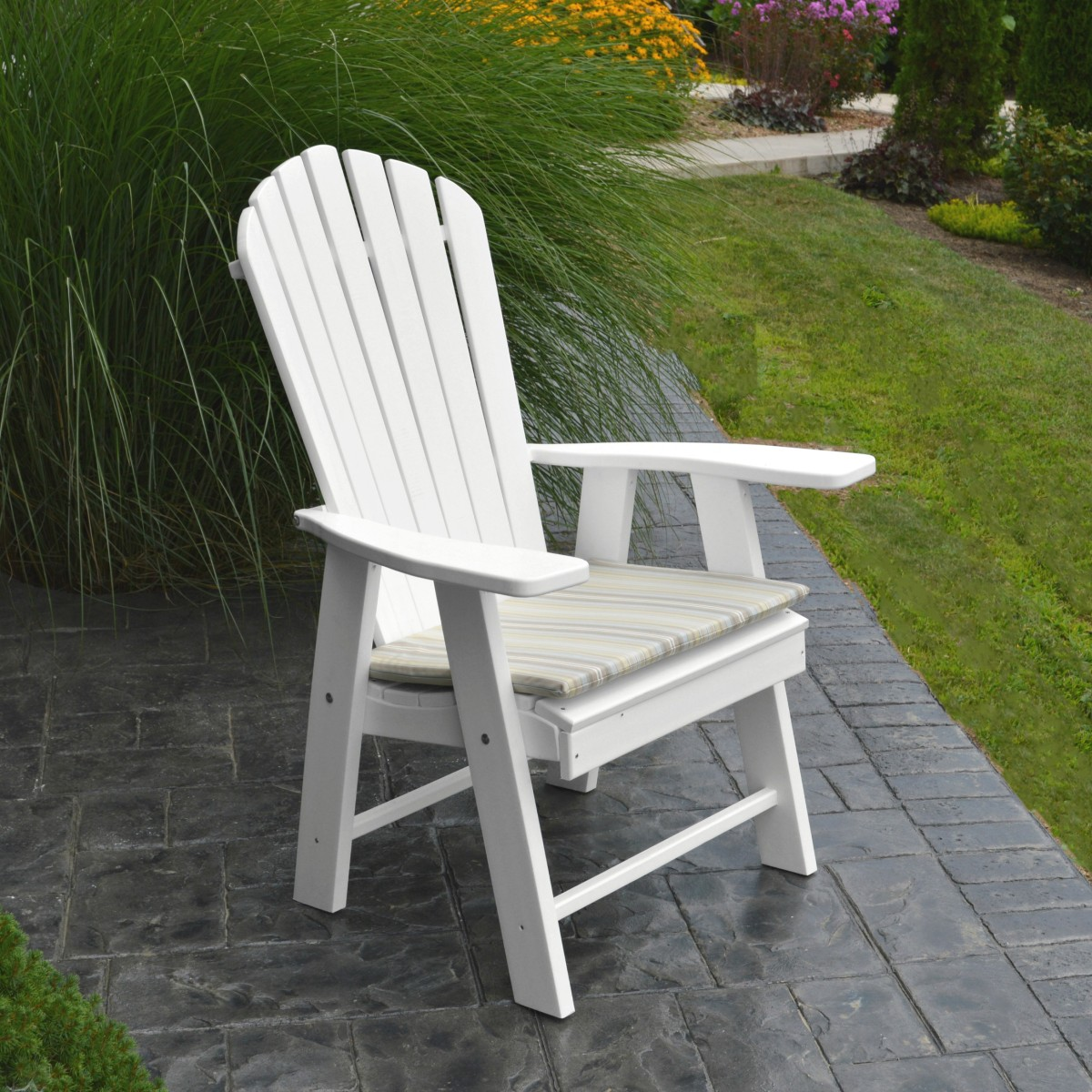 Upright Adirondack Chair 187 Amish Woodwork