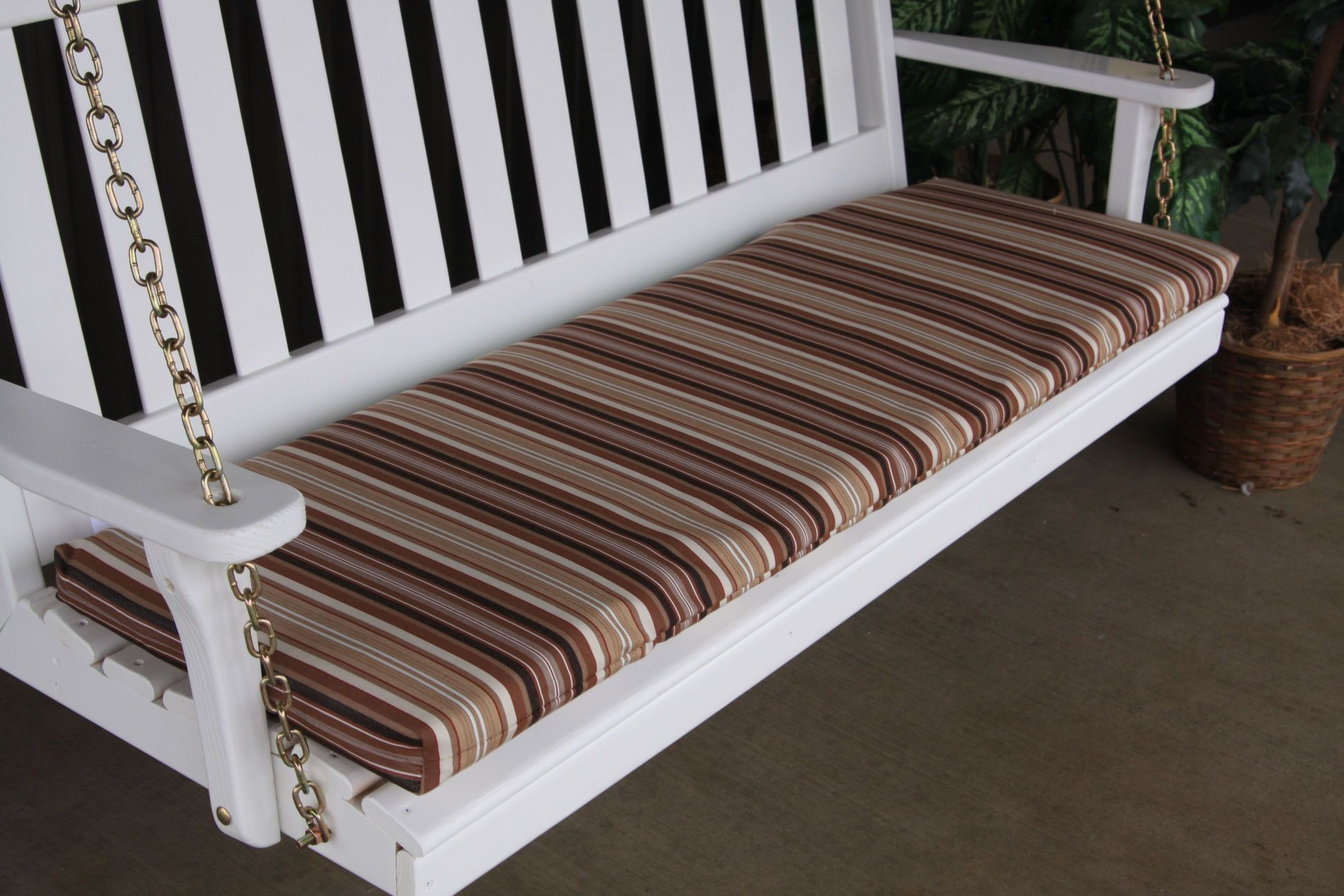 Bench Cushion 4′ 2 inch thick Amish Woodwork