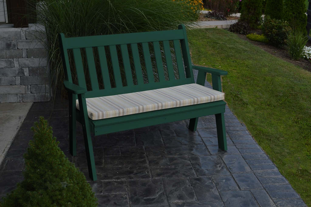 5 Traditional English Garden Bench Amish Woodwork