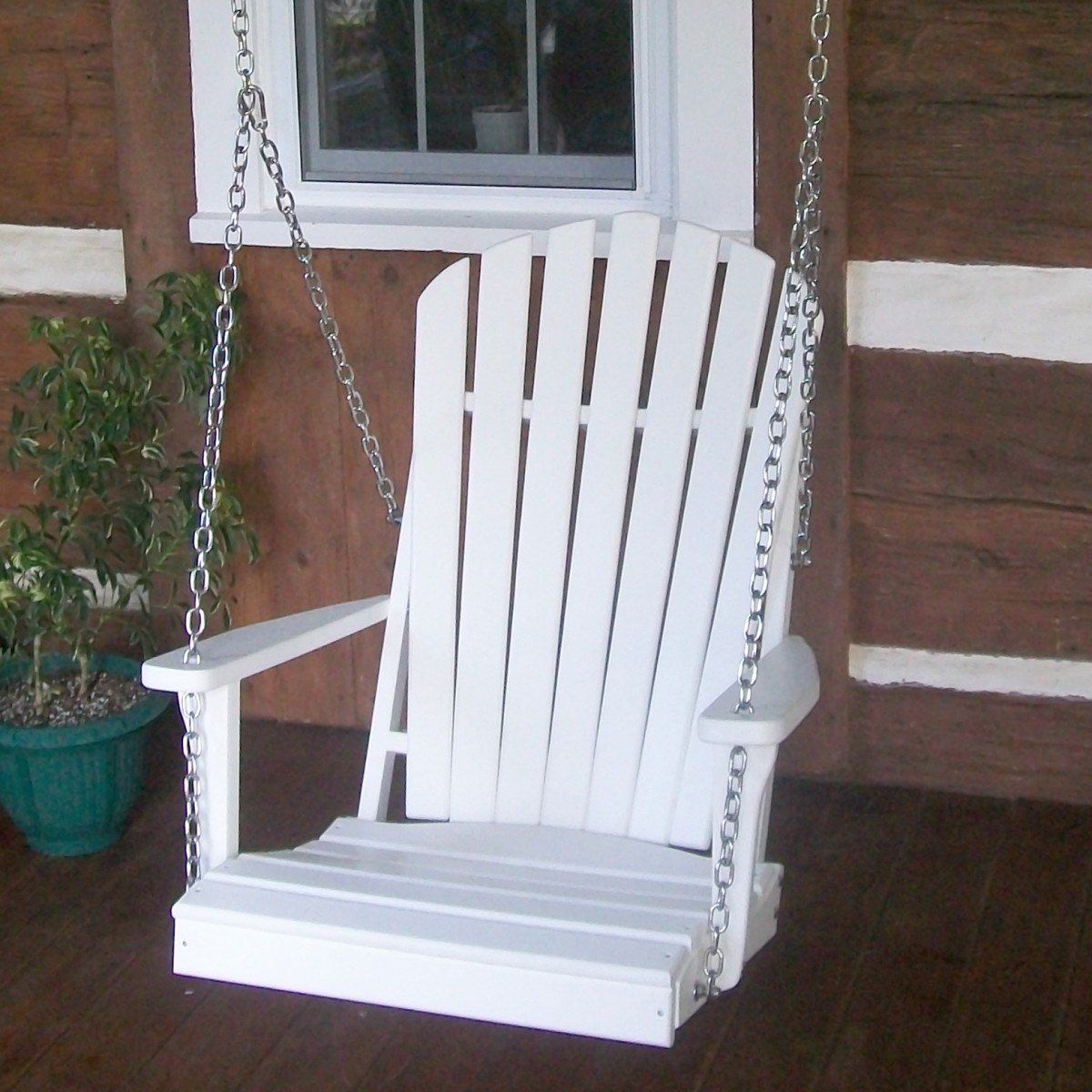 2 Adirondack Chair Swing 187 Amish Woodwork